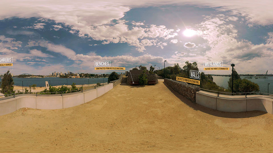 ballast point park sydney 360 vr virtual reality experience tour travel