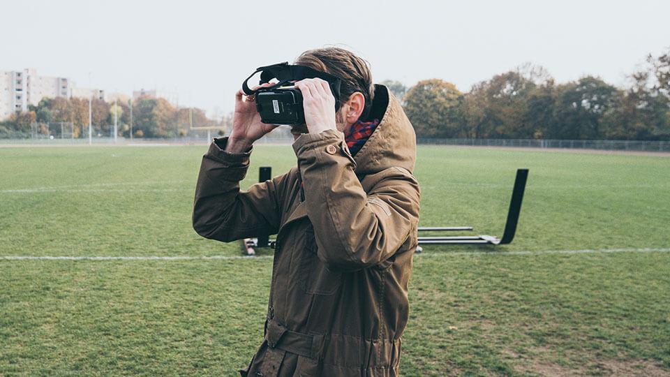 serviceplan agency samsung b2b 360 american football vr virtual reality frankfurt film video production behind the scenes bts making of