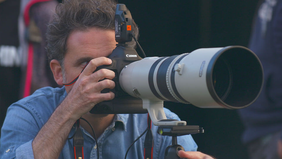 getty grant perry film production tvc bts behind the scenes canon zoom