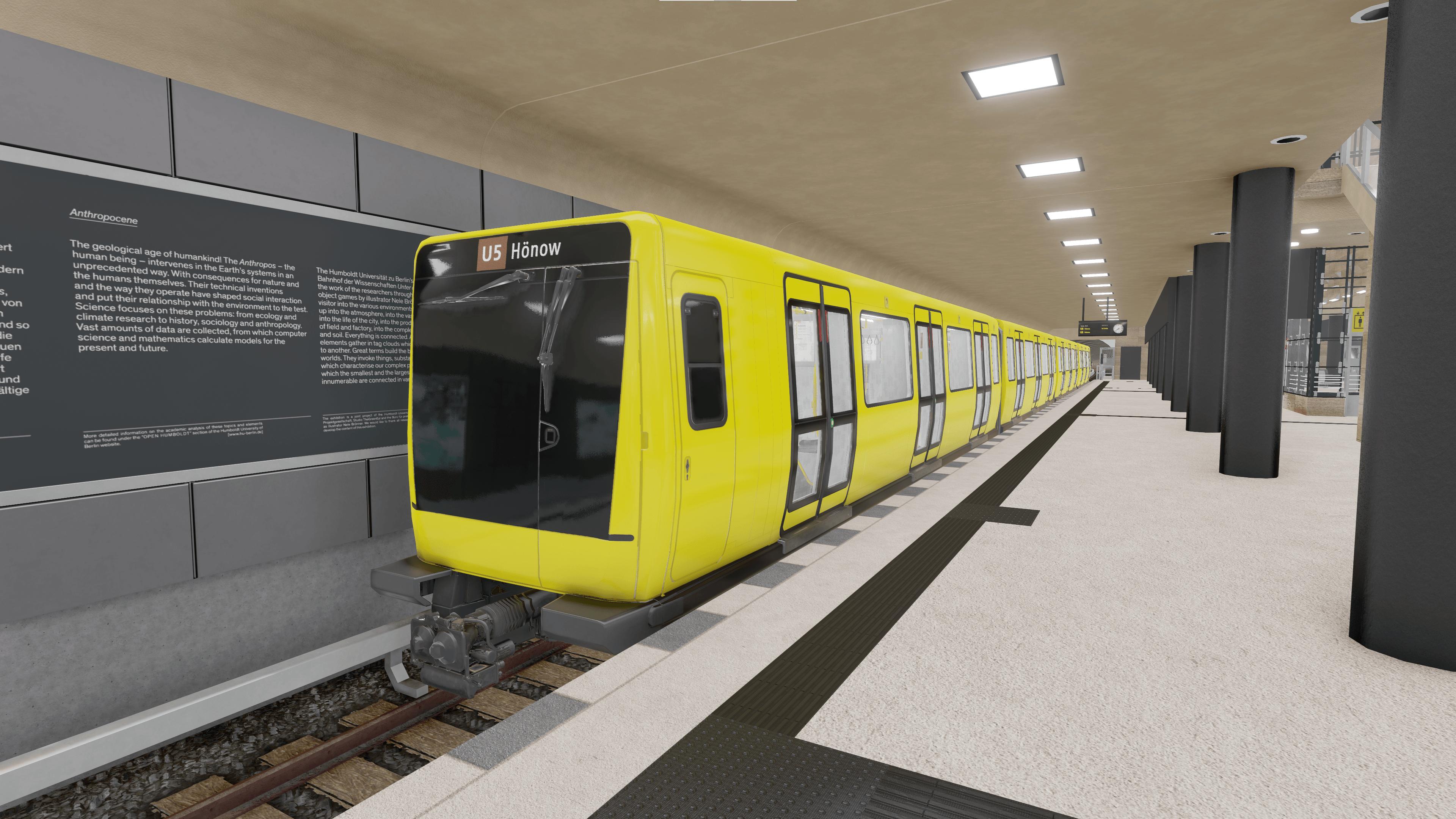 Berlin U5 Stations XVR Environment